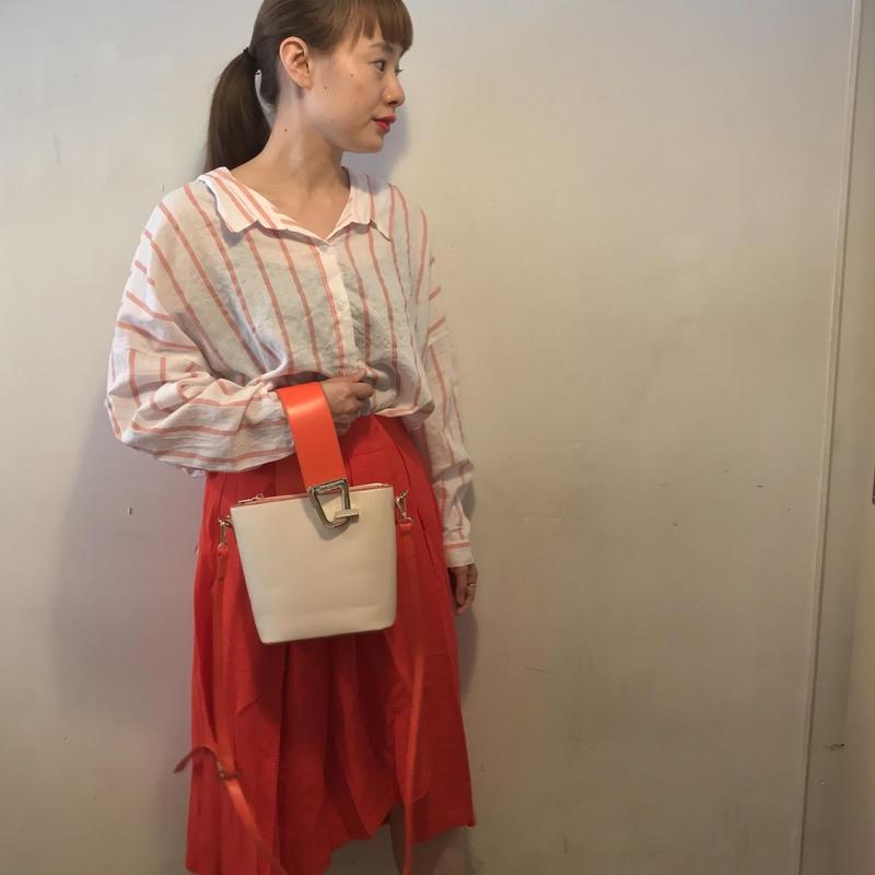 フレアスカート/RED