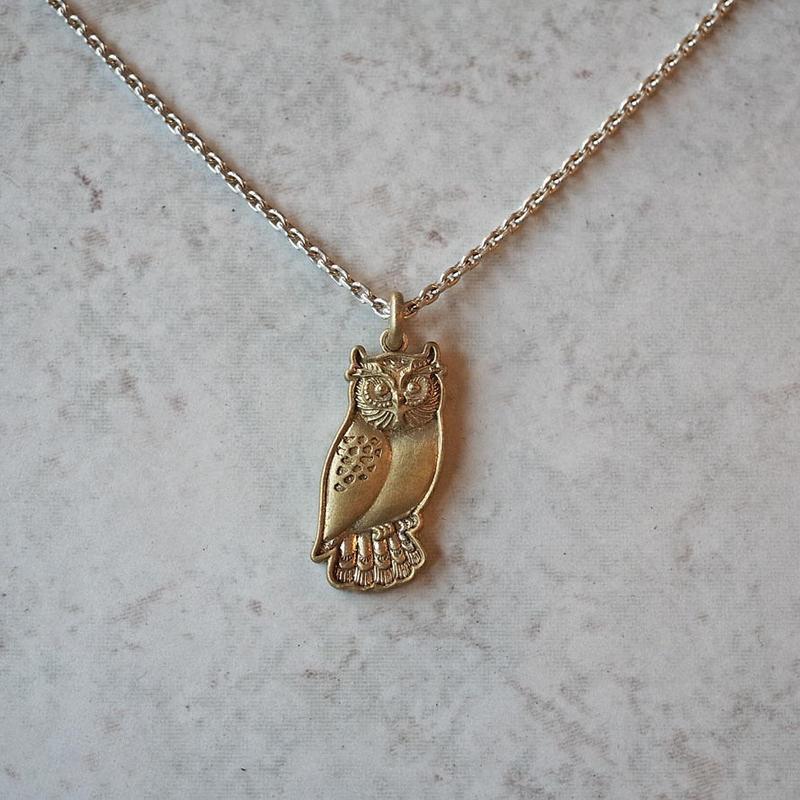 brass-charm-owl