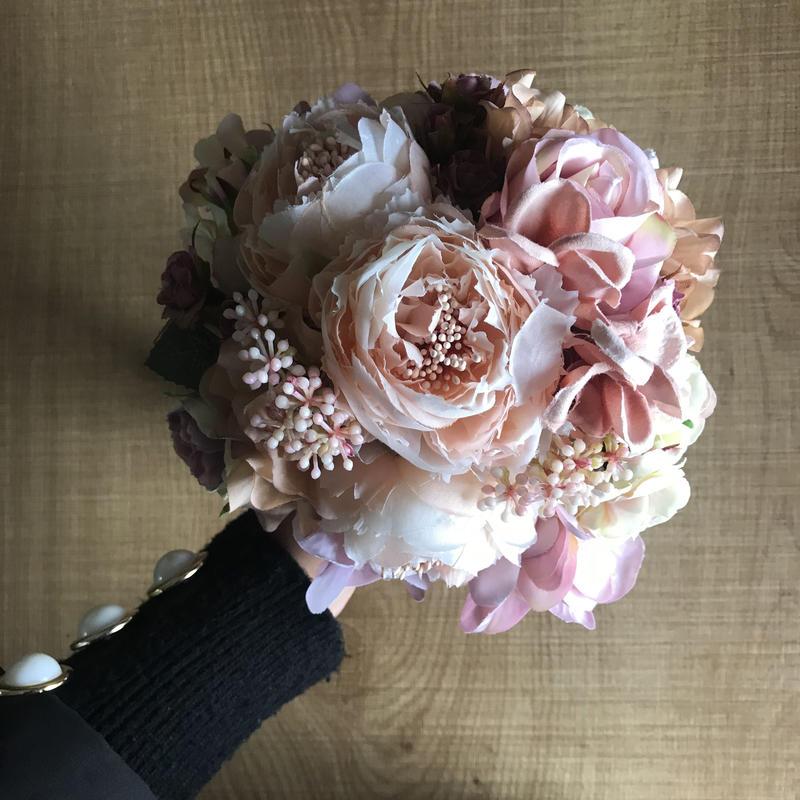 *-art bouquet- antique pink-*