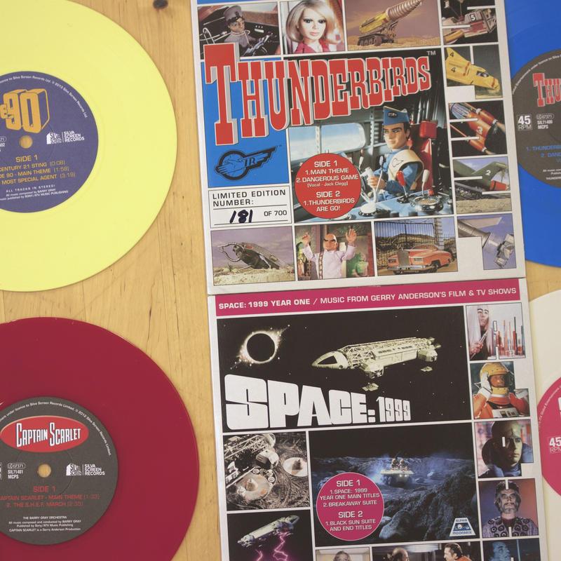 【限定盤】Gerry Anderson 7inch BOXセット