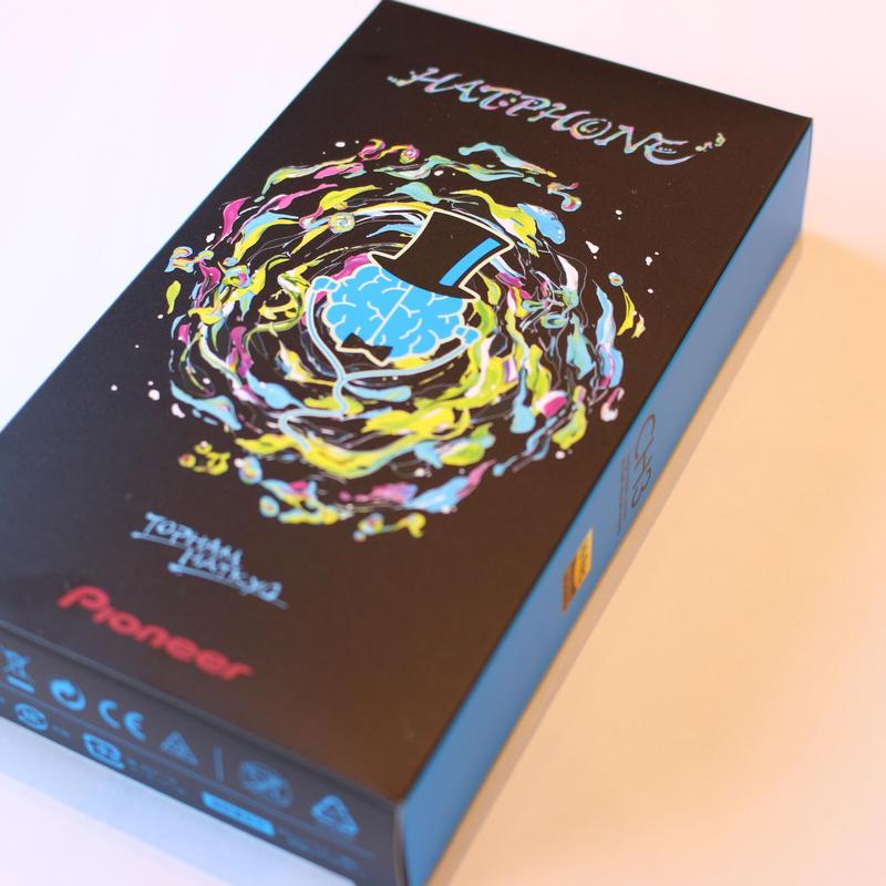 HATPHONE (トップハムハット狂 × Pioneer  オフィシャルコラボレーション イヤーフォン)限定品
