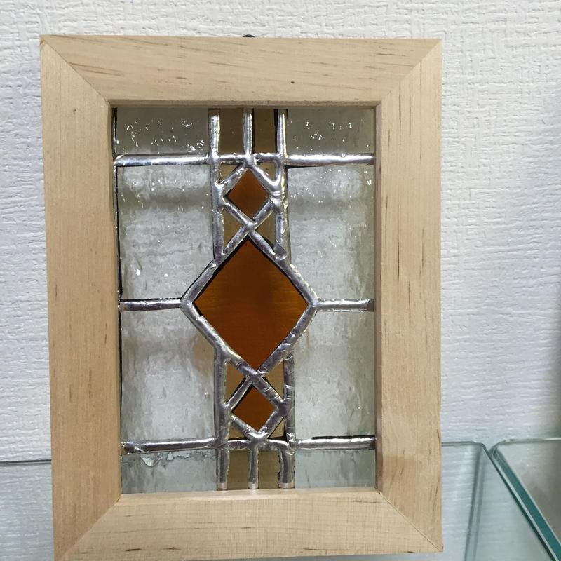 ステンドグラス 額 A1011