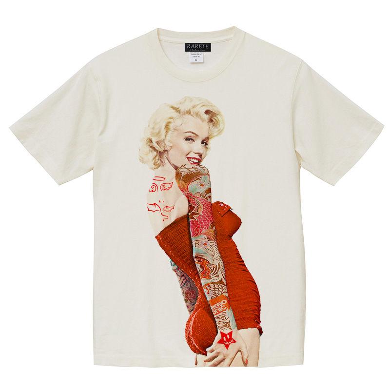 RARETE (ラルテ) マリリンモンロー 赤ドレス ホワイト (ピグメント加工)