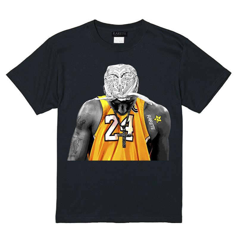 RARETE (ラルテ)   2PAC Uniforme  Tシャツ ブラック