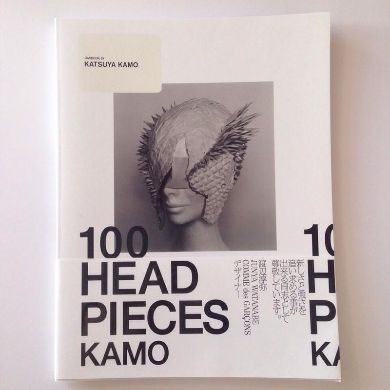 "GASBOOK 29 / KATSUYA KAMO ""100 HEADPIECES"""