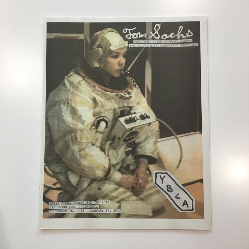 TOM SACHS / SPACE PROGRAM: EUROPA CATALOGUE