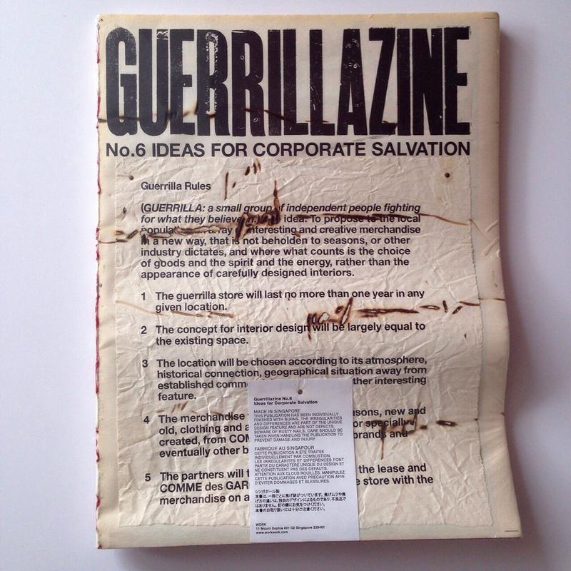 GUERRILLAZINE No.6: Ideas for Corporate Salvation