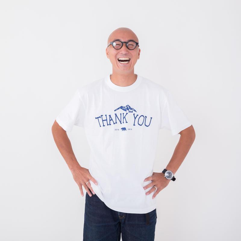『THANK YOU』コットン Tシャツ