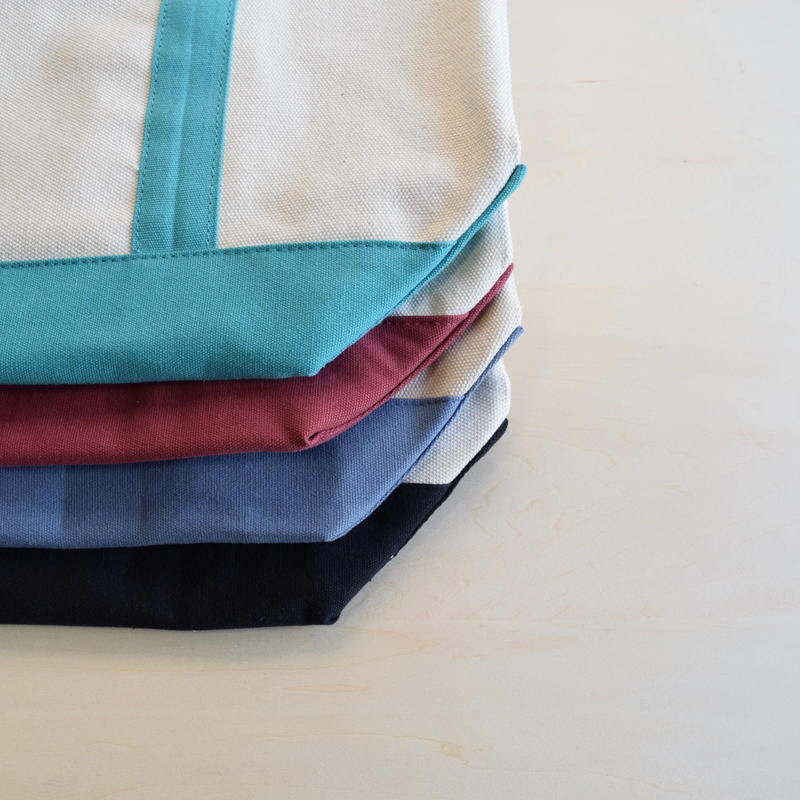 ''Comfort Colors'' HEAVY TOTE BLUE/TURQUOISE/RED/BLACK