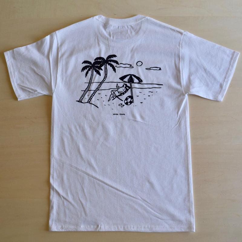 ''DANA SPORTS''    BEACH  S/ST   WHITE/GRAY