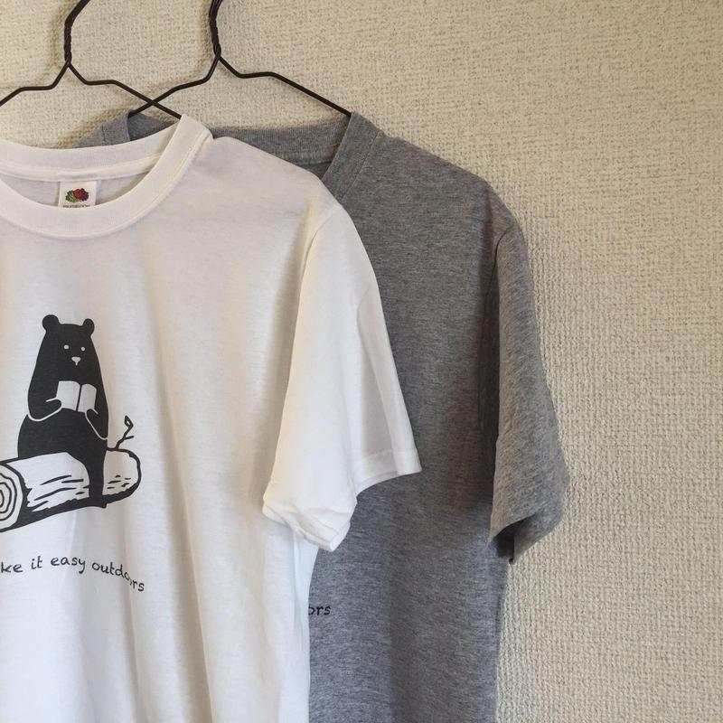 "DANA SPORTS ''book bear"" Tシャツ White/Gray"
