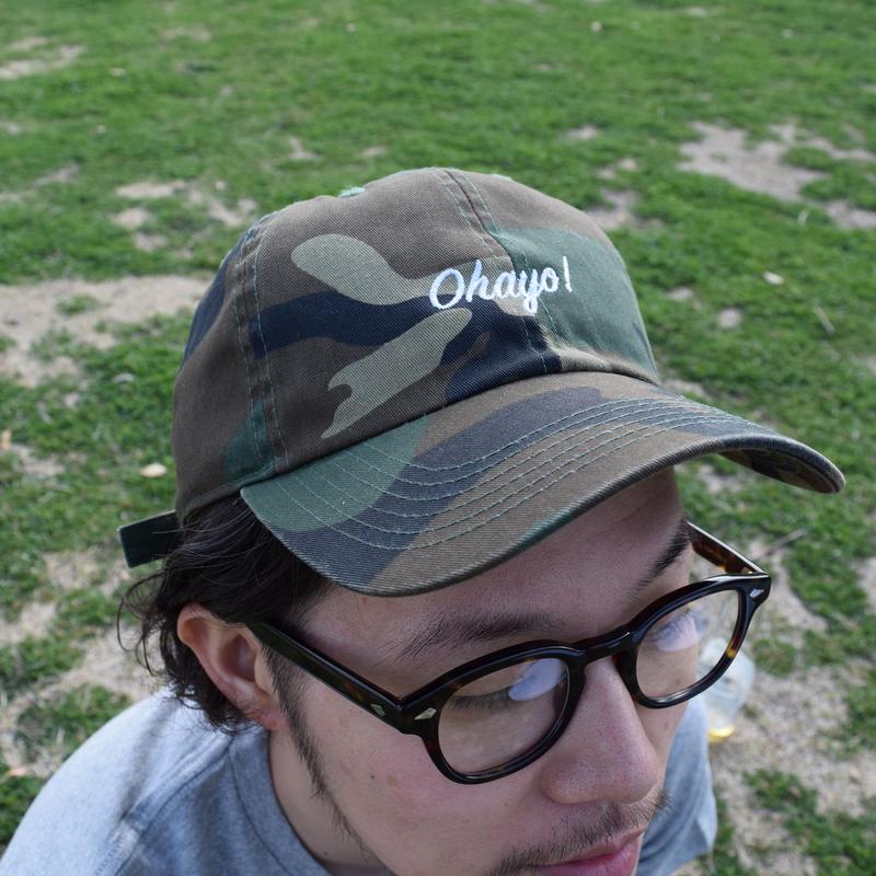 DANA SPORTS ''OHAYO!''BASEBALL CAP  Black/Green/Camo