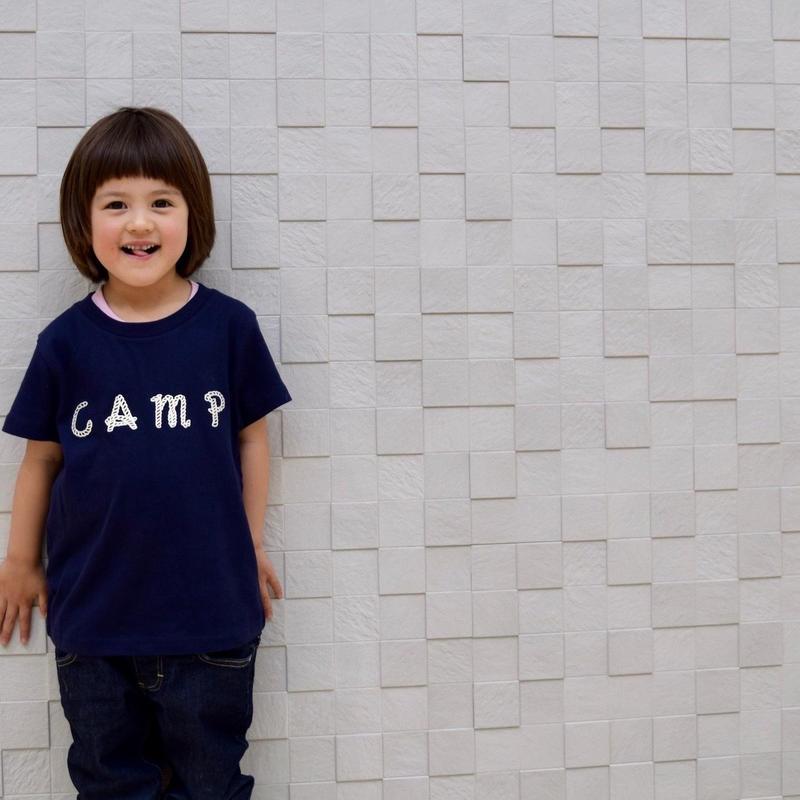 DANA SPORTS ''CAMP''キッズT