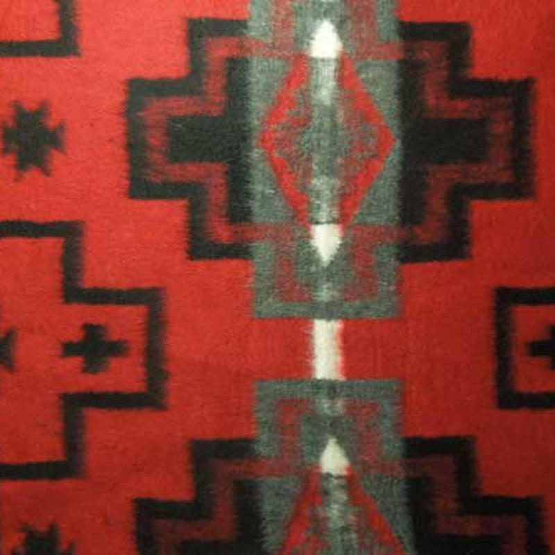 Native系 Fleece Camp Blanket