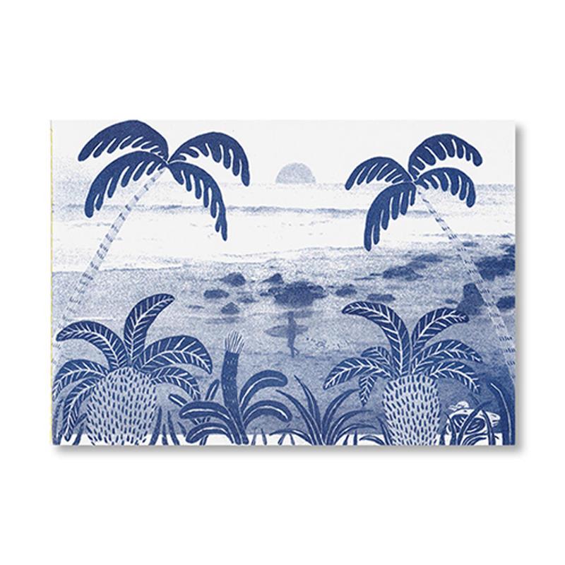 SEA AND HIM /  Okataoka