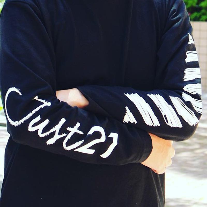 Just21 Long Sleeve Logo Tee