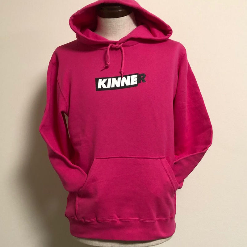 Kinner(キナー)スエットパーカー ピンク XSサイズ