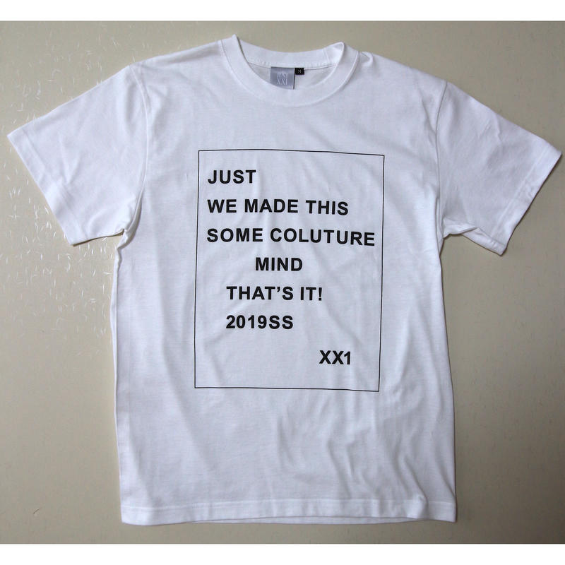 "JUST 21 ""WE MADE THIS ""TEE"