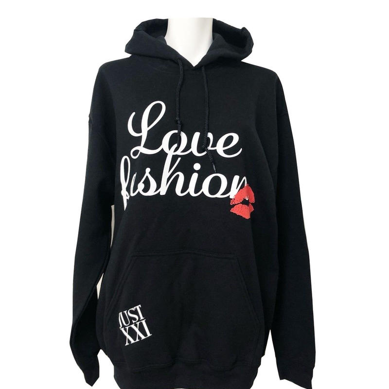 LOVE FASHION PULL OVER PARKA