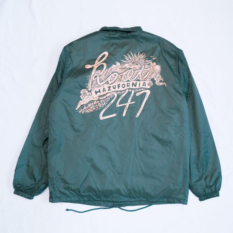 HAZUFORNIAコーチジャケット Root247