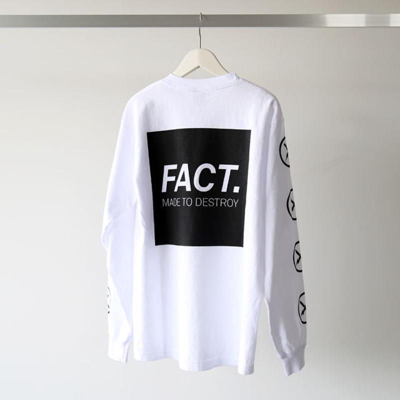 FACT. / Box Logo L/S Tee (ユニセックス)