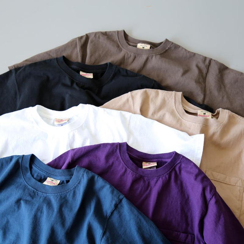 GOODWEAR / レギュラー半袖ポケットTシャツ GDW-001-191011