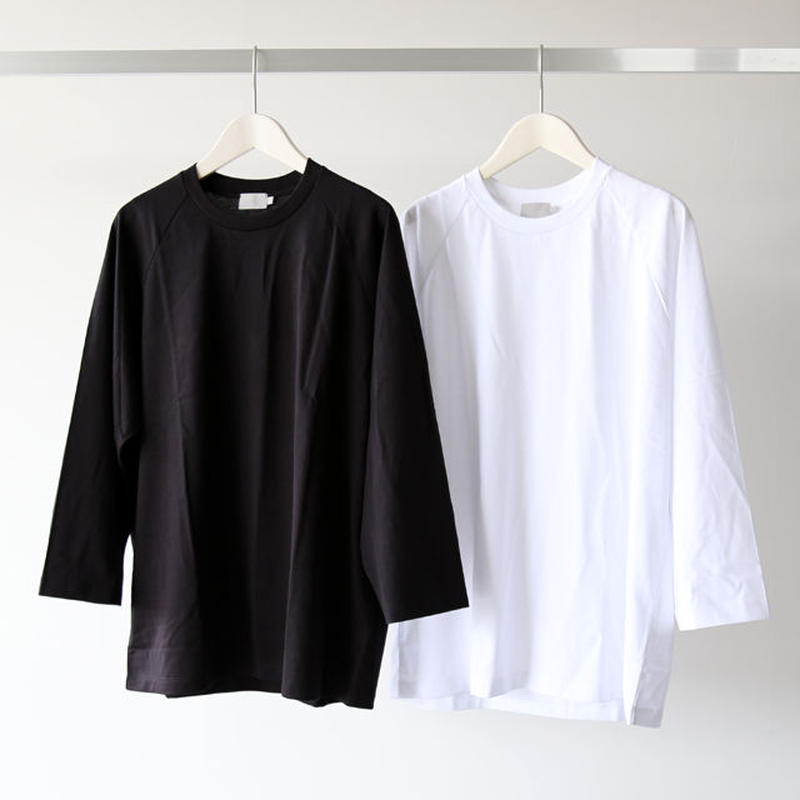 handvaerk ハンドバーク / 七分袖 ラグランTシャツ 6505 (メンズ)