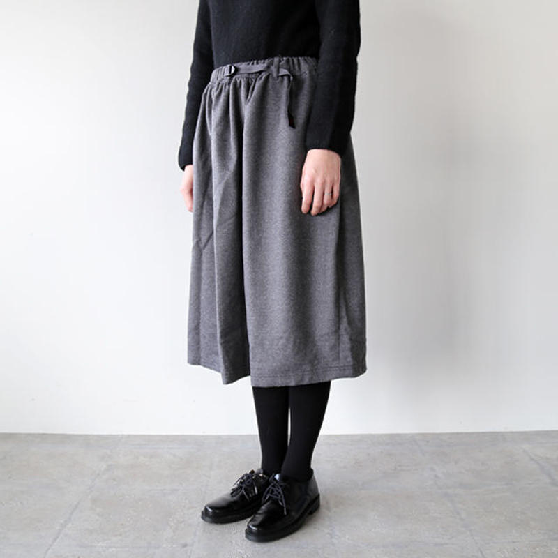 GRAMICCI (グラミチ) / WOOL LONG FLARE SKIRT GLSK-17F023