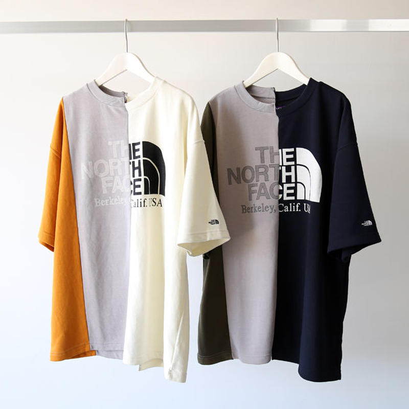 THE NORTH FACE PURPLE LABEL / Asymmetry Logo Tee NT3916N (メンズ)