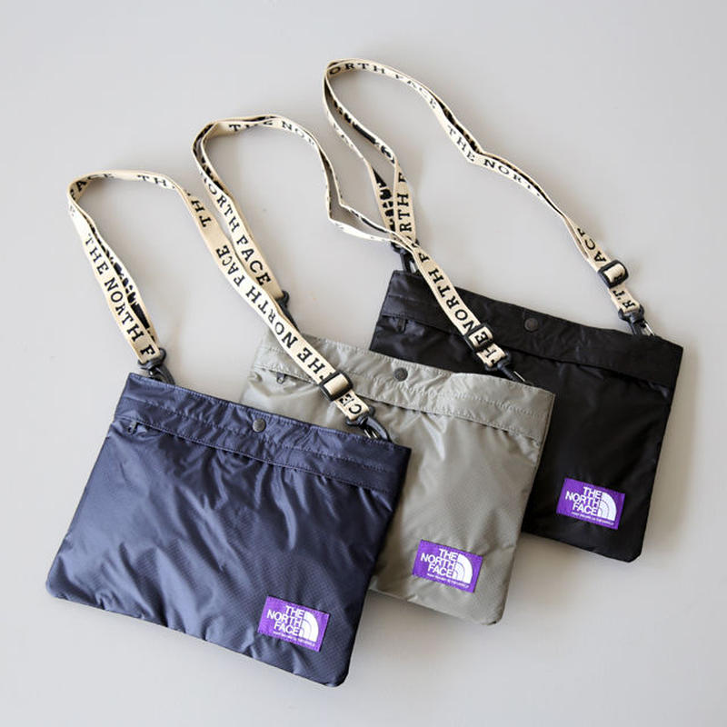 THE NORTH FACE PURPLE LABEL / Lightweight Logo Tape Shoulder Bag NN7917N