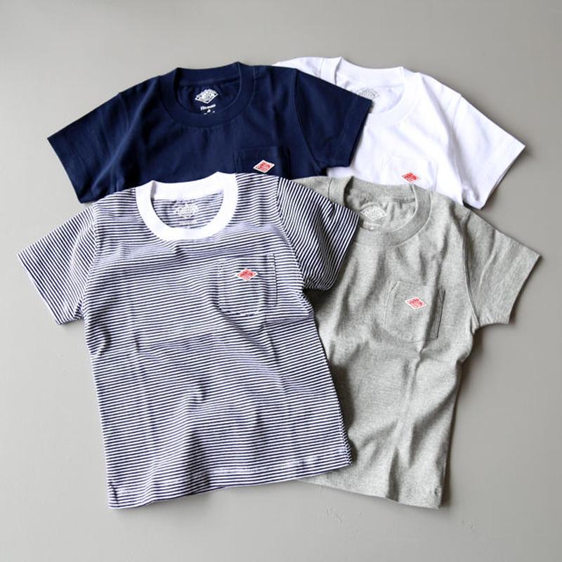DANTON (ダントン) / KIDS ポケットTシャツ JD-9087