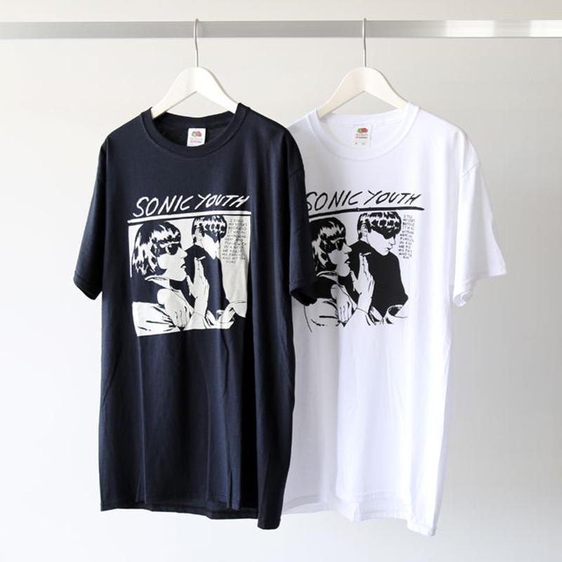 KUNG FU / S/S TEE 『Sonic Youth / White Goo / Black Goo』 (ユニセックス)