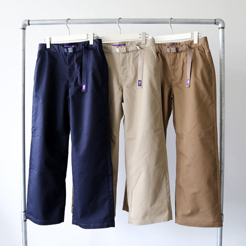 THE NORTH FACE PURPLE LABEL / Stretch Twill Wide Pants NTW5851N (レディース)