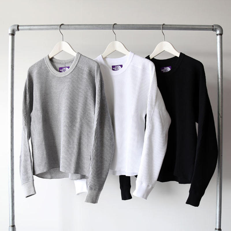 THE NORTH FACE PURPLE LABEL / Crew Neck Thermal Shirt NT3860N (レディース)