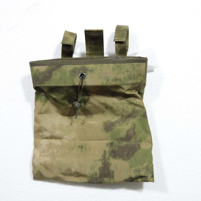SSO製 ダンプポーチ A-tacs FG ベルクロループ止めタイプ