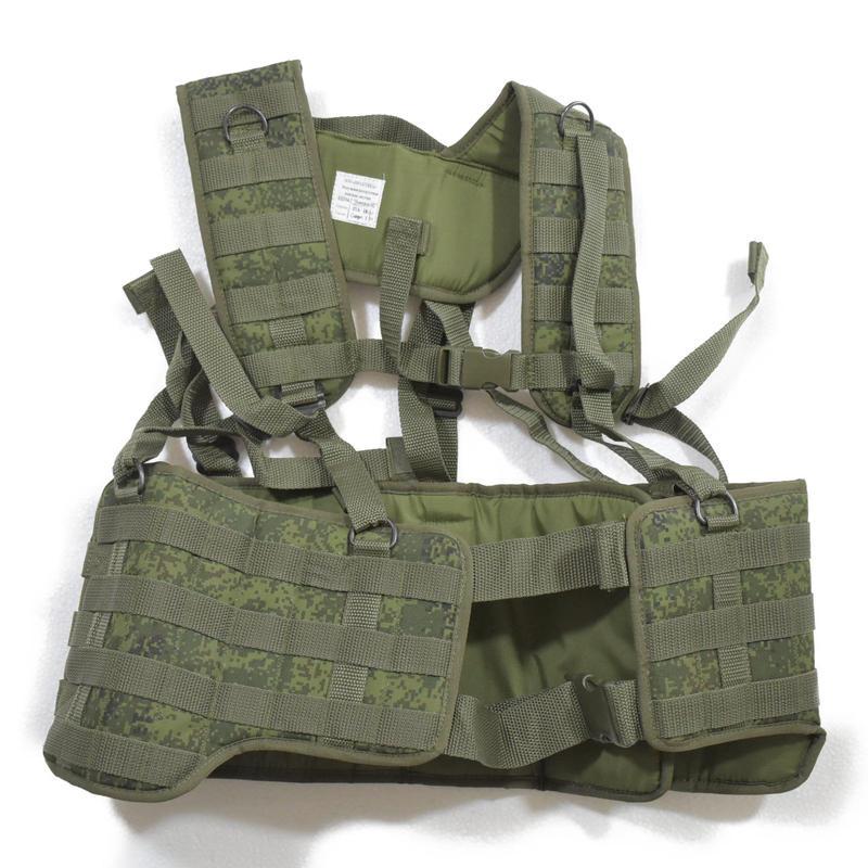 ロシア連邦軍 官給品 6sh104-2 ハーネス フルセット デジタルフローラ迷彩  フルセット