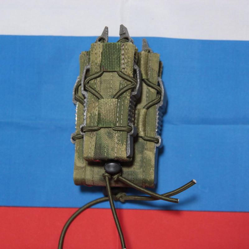 PGS製  A-tacs FG 迷彩 AK74+ハンドガン Tacoマガジンポーチ Molle