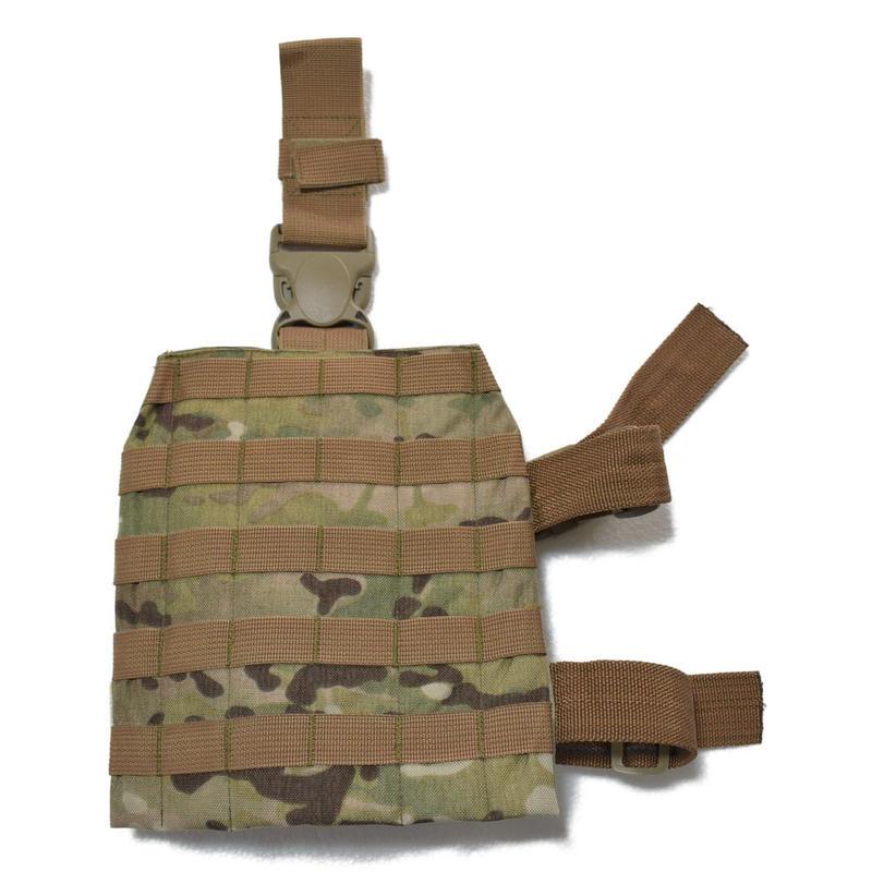 FSB放出 ANA製 官給品 マルチカムMolleセット レッグモールパネル プラットフォーム