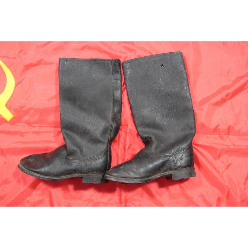 ソ連製 実物 キルザ製 ジャックブーツ 1987年規格 サイズ39/24.7cm