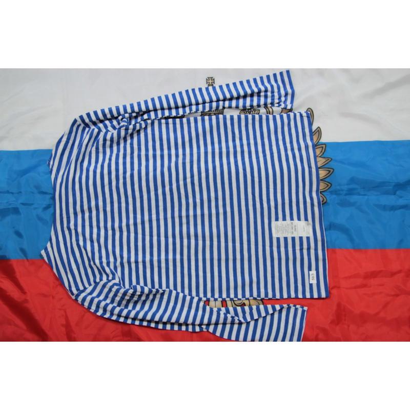 ロシア空挺軍官給品 BTK-Group製 テルニャシュカ ボーダーシャツ 2005年規定