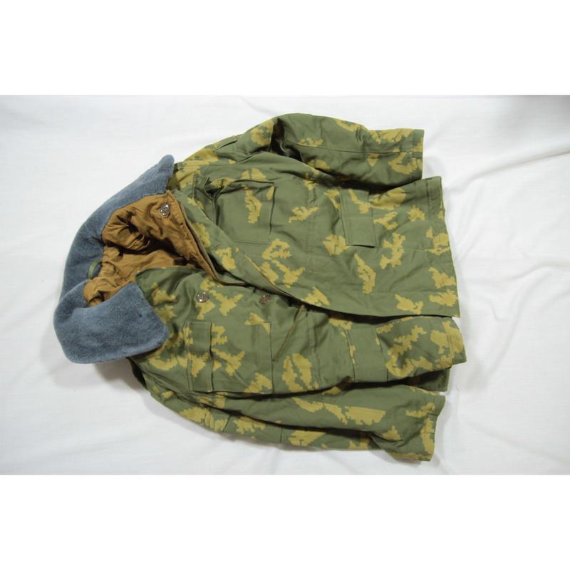 ソ連製 Berezka 国境軍迷彩 冬服ジャケット インナー付き 1987年製