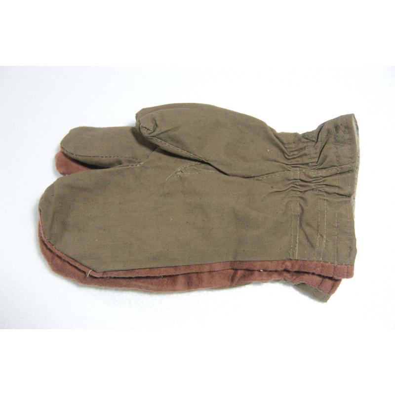 ソ連製 冬季用 三つ指 オーバーグローブ 手袋