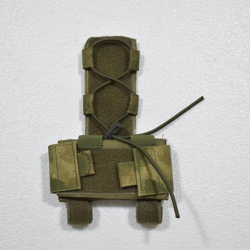 GearCraft製 ヘルメット ユーティリティポーチ  A-tacs FG