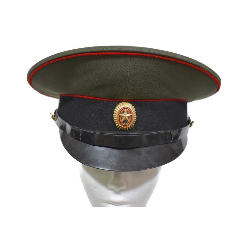 ロシア連邦軍 陸軍 官給品 制帽 帽章付き