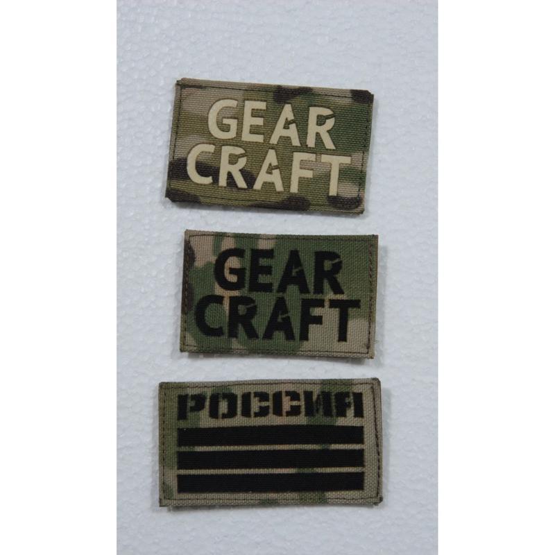 Gear Craft製 メーカーパッチ フラッグパッチ