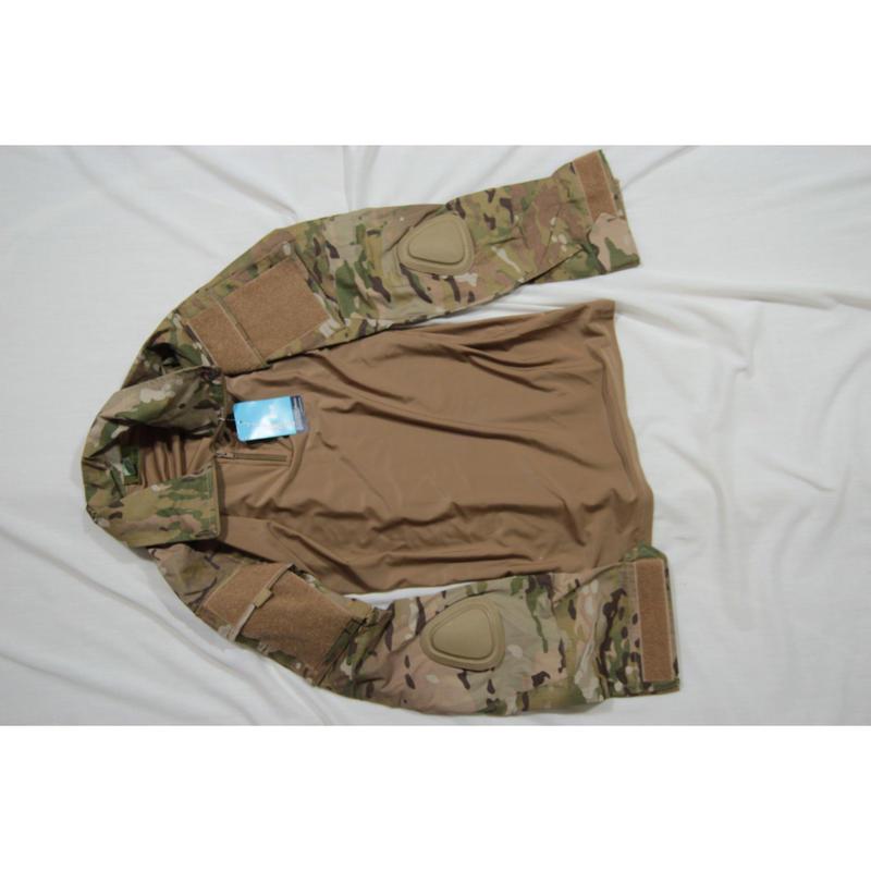 ロシア Armytex製 マルチカム迷彩 コンバットシャツ+パンツセット 特注品