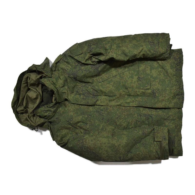 ロシア連邦軍官給品 デジタルフローラ迷彩 ウィンタースーツ上下