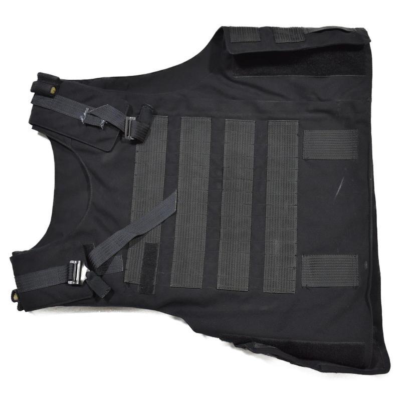 ロシア警察 内務省 実物 Kora-1mk ボディーアーマー カバー 黒 #1