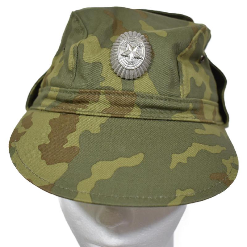 ロシア連邦軍官給品 VSR-93 ケピ帽 キャップ 帽章付き  1995年製  #2