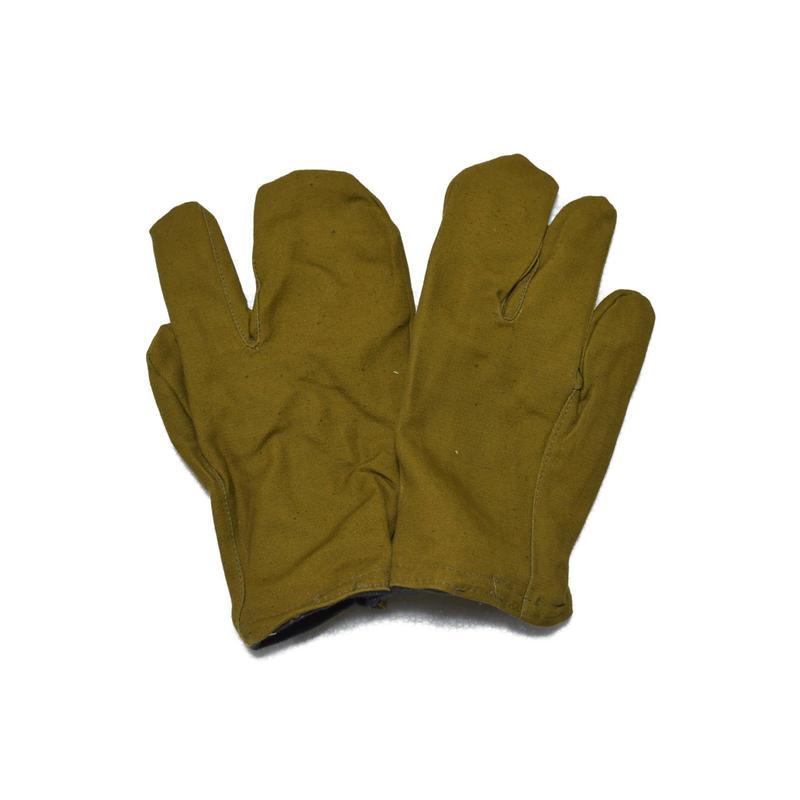 ソ連製  三つ指 グローブ 手袋